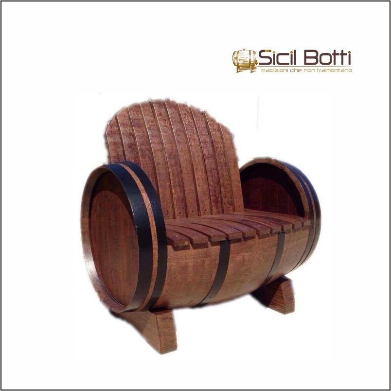Botte divano sicil botti for Botte arredamento